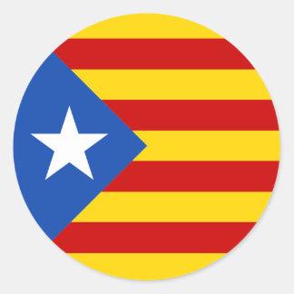 Etiqueta de Catalonia Estrellada