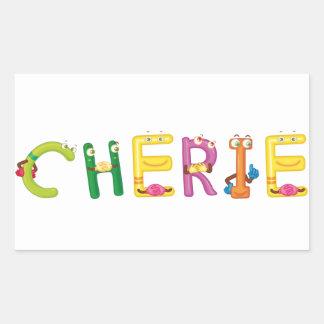 Etiqueta de Cherie