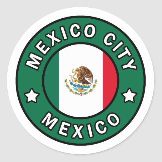 Etiqueta de Cidade do México
