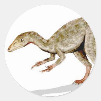 Etiqueta de Compsognathus Adesivo