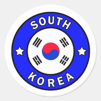 Etiqueta de Coreia do Sul
