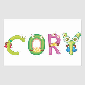 Etiqueta de Cory