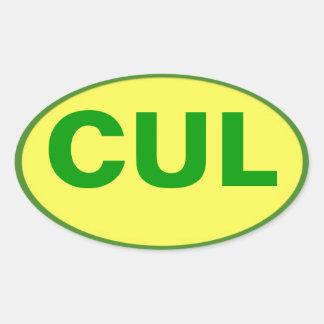 Etiqueta de CUL - cores de Culebra!