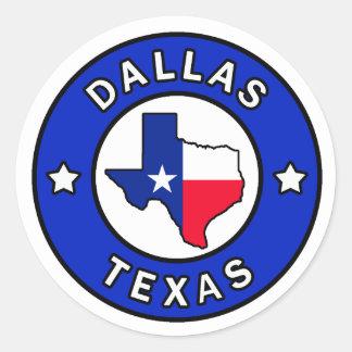 Etiqueta de Dallas Texas Adesivo