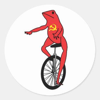 Etiqueta de Dat Boi do Commie