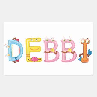 Etiqueta de Debbi