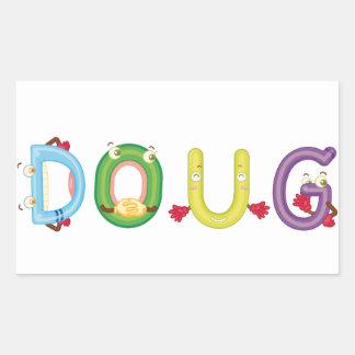 Etiqueta de Doug