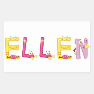 Etiqueta de Ellen