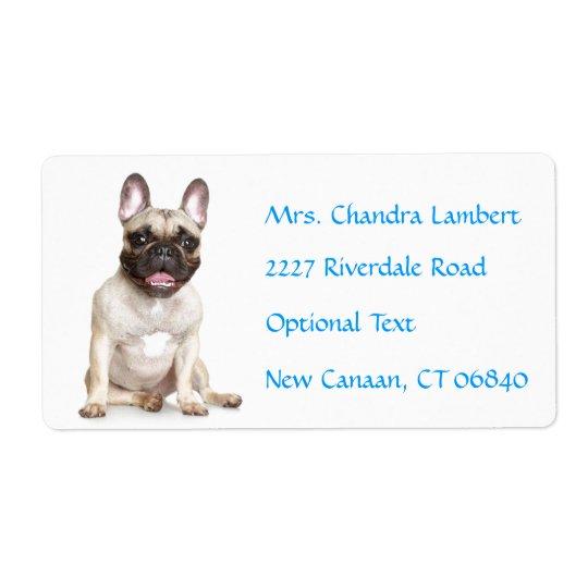 Etiqueta de endereço conhecida personalizada do