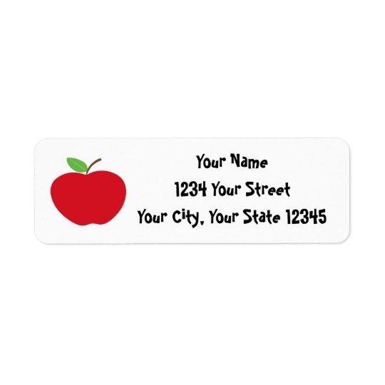 Etiqueta de endereço de Apple