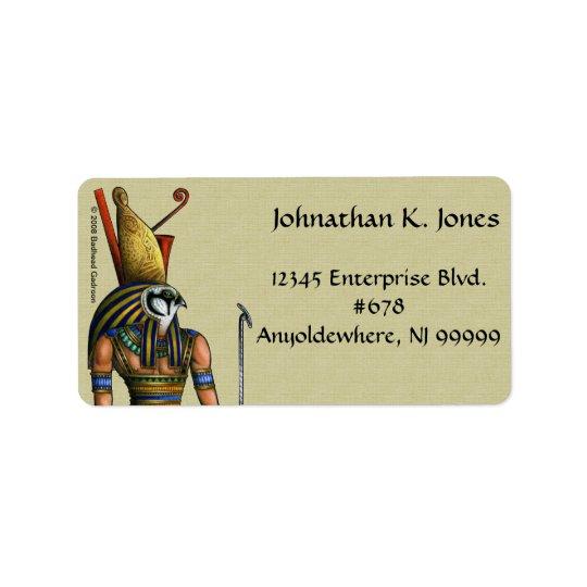 Etiqueta de endereço de Horus