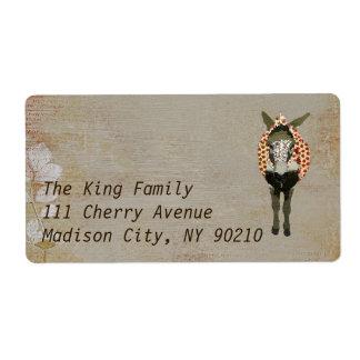 Etiqueta de endereço   de Moses