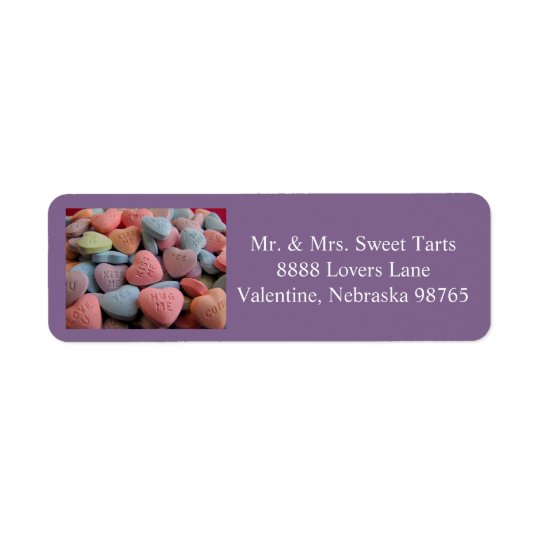 Etiqueta de endereço do remetente 1 2016 do dia