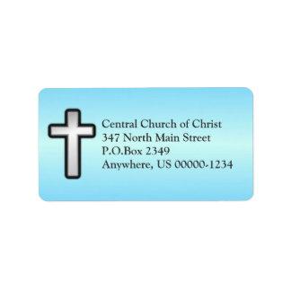 Etiqueta de endereço feita sob encomenda