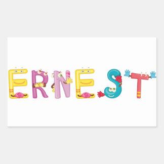 Etiqueta de Ernest