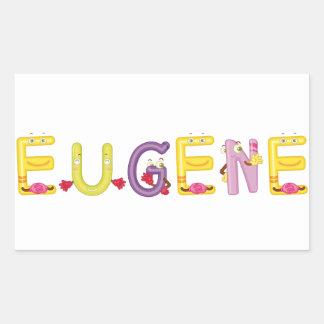 Etiqueta de Eugene