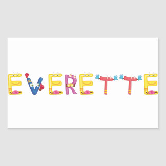 Etiqueta de Everette