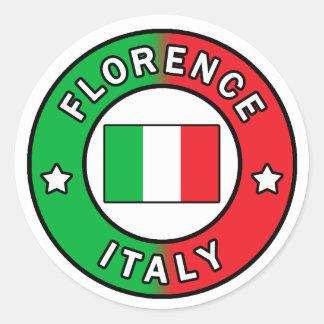 Etiqueta de Florença Italia