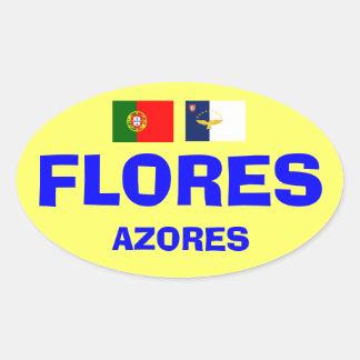 Etiqueta de Flores Açores