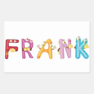 Etiqueta de Frank