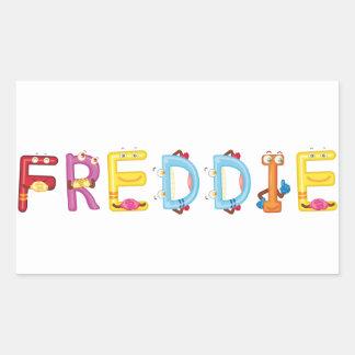 Etiqueta de Freddie
