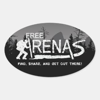 etiqueta de FreeArenas.com