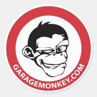 Etiqueta de GarageMonkey Adesivo
