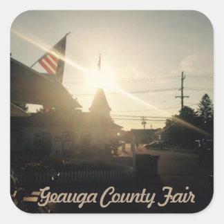 Etiqueta de Geauga County justo, Ohio