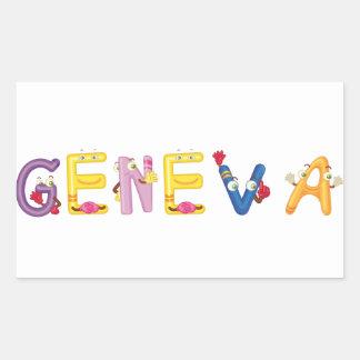 Etiqueta de Genebra