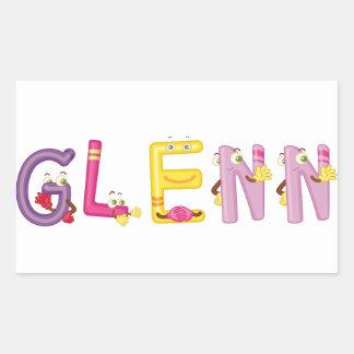 Etiqueta de Glenn