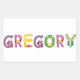 Etiqueta de Gregory