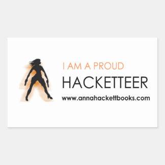 Etiqueta de Hacketteer