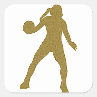 Etiqueta de Handballerin do ouro