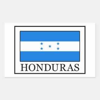 Etiqueta de Honduras Adesivo Retangular