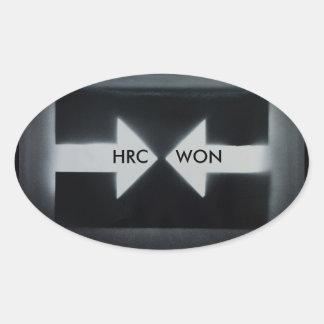 Etiqueta de HRC WON/resist