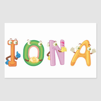 Etiqueta de Iona