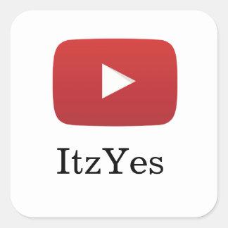 Etiqueta de ItzYes YouTube