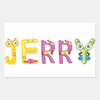 Etiqueta de Jerry
