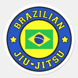 Etiqueta de Jiu-Jitsu do brasileiro Adesivo