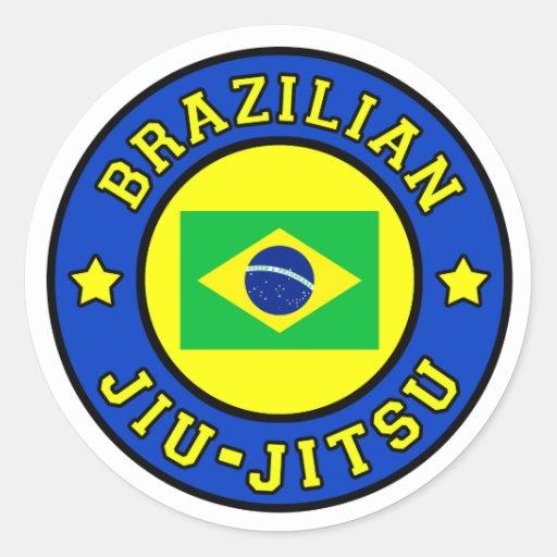 Artesanato Russo Em Sp ~ Etiqueta de Jiu Jitsu do brasileiro Adesivo Zazzle