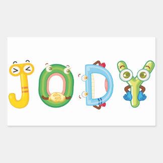 Etiqueta de Jody