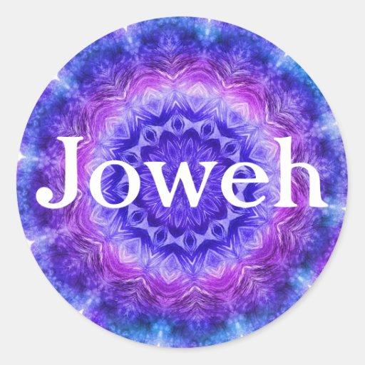 Etiqueta de Joweh Adesivo Redondo