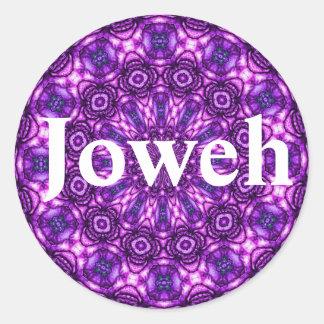 Etiqueta de Joweh Adesivos Em Formato Redondos