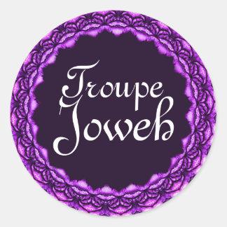 Etiqueta de Joweh do trupe