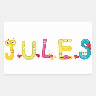 Etiqueta de Jules