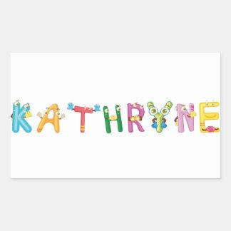 Etiqueta de Kathryne