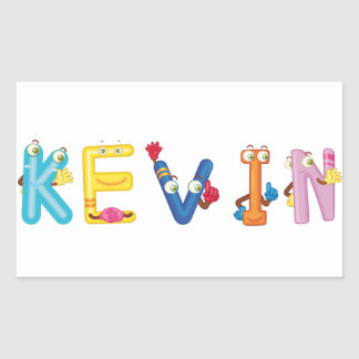 Etiqueta de Kevin