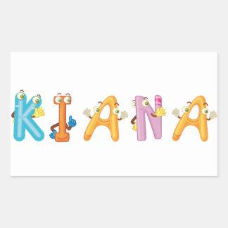 Etiqueta de Kiana