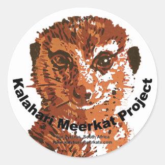 Etiqueta de KMP Adesivos Em Formato Redondos