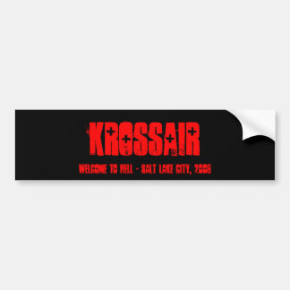 Etiqueta de KROSSAIR Adesivo Para Carro